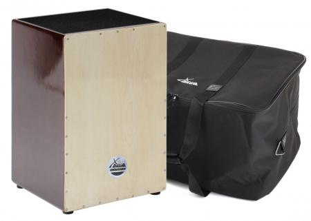 XDrum Cajon Nature Series Brown Wood Set, incl. tas