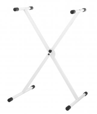 Classic Cantabile X-Keyboardständer höhenverstellbar weiß  - Retoure (Zustand: gut)