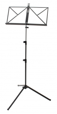 Classic Cantabile Music Stand Medium Heavy Black
