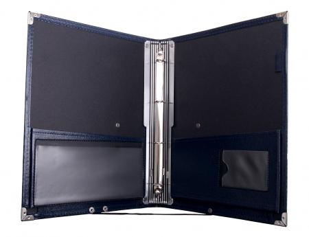 Classic Cantabile B16BL cartera de notas Deluxe azul