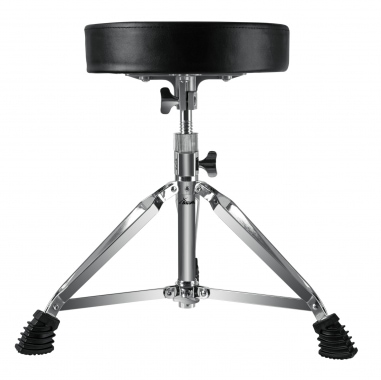 XDrum DHS-1 Drum Stool - Height-Adjustable Between 50-64 cm - 3 Legs with Rubber Feet - Collapsible