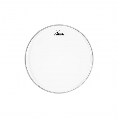 "XDrum 14"" Transparent Skin, Single-Layer"