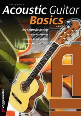 Acoustic Guitar Basics + CD