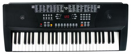 FunKey 54 keyboard incl. alimentatie en notenhouder zwart