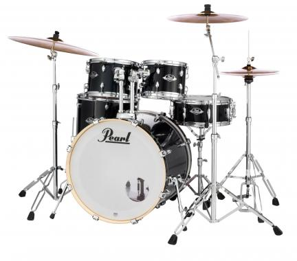 Pearl Export EXX705NBR/C31 Drumkit Jet Black