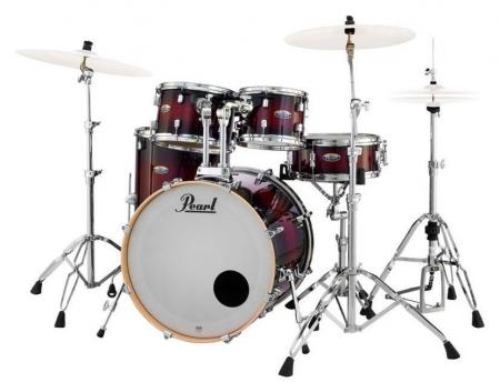 Pearl DMP925F/C261 Decade Maple Gloss Deep Red Burst