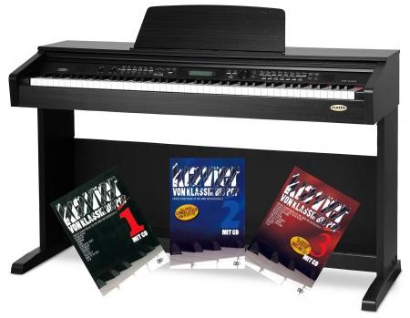 Classic Cantabile DP-A 310 SM E-Piano S. matt mit Notenheft