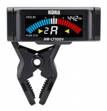 Korg AW-LT100V Clip-On Tuner