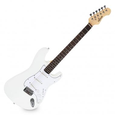Guitarra Eléctrica Shaman Element Series STX-100B blanca