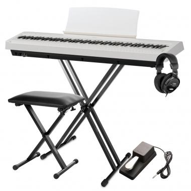 Ständer Stativ Stand Halter für SP-150 SP-250 Stage Piano Holz Schwarz