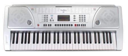 FunKey 61 Keyboard inkl. Netzteil und Notenhalter  - Retoure (Zustand: gut)