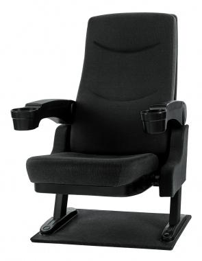 Stagecaptain CS-600BK Movieking fauteuil de cinéma noir