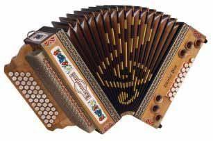Kärntnerland Kunst Zillertal Plus Harmonika 4/III B-Es-As-Des