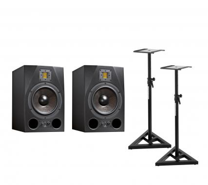 Adam Audio A8X Stativ Bundle