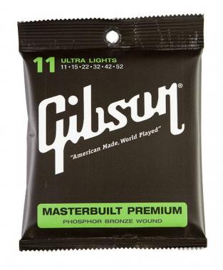 Gibson Masterbuilt Premium Phosphor Bronze Ultra Light