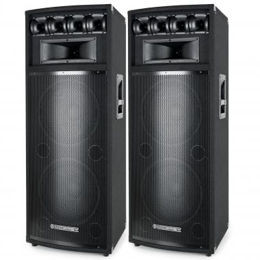 McGrey Caja pasiva Power DJ-212 , par de 2 x 800 W