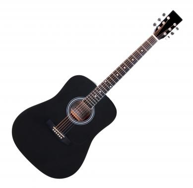 Classic Cantabile WS-10BK Acoustic Guitar Black
