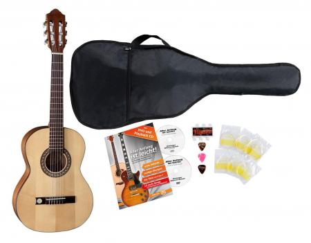 VGS Pro Arte GC-75 II 3/4 Konzertgitarre Starter Set