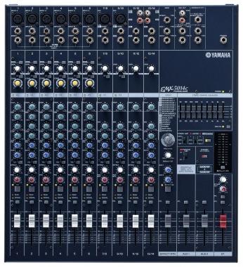 Yamaha EMX 5014C powermixer 2x500 watt