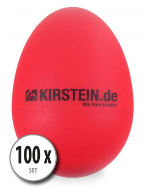100-Piece Set Kirstein ES-10R Egg Shaker – Red