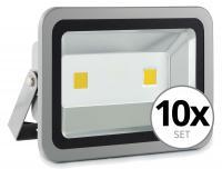 68520ef9322 Showlite FL-2100 LED projector IP65 100 Watt 11000 Lumen 10x SET