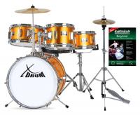 """B-WARE XDrum Junior Hihat Ständer 8/"""" Becken Kinder Schlagzeug Cymbal Stand"""
