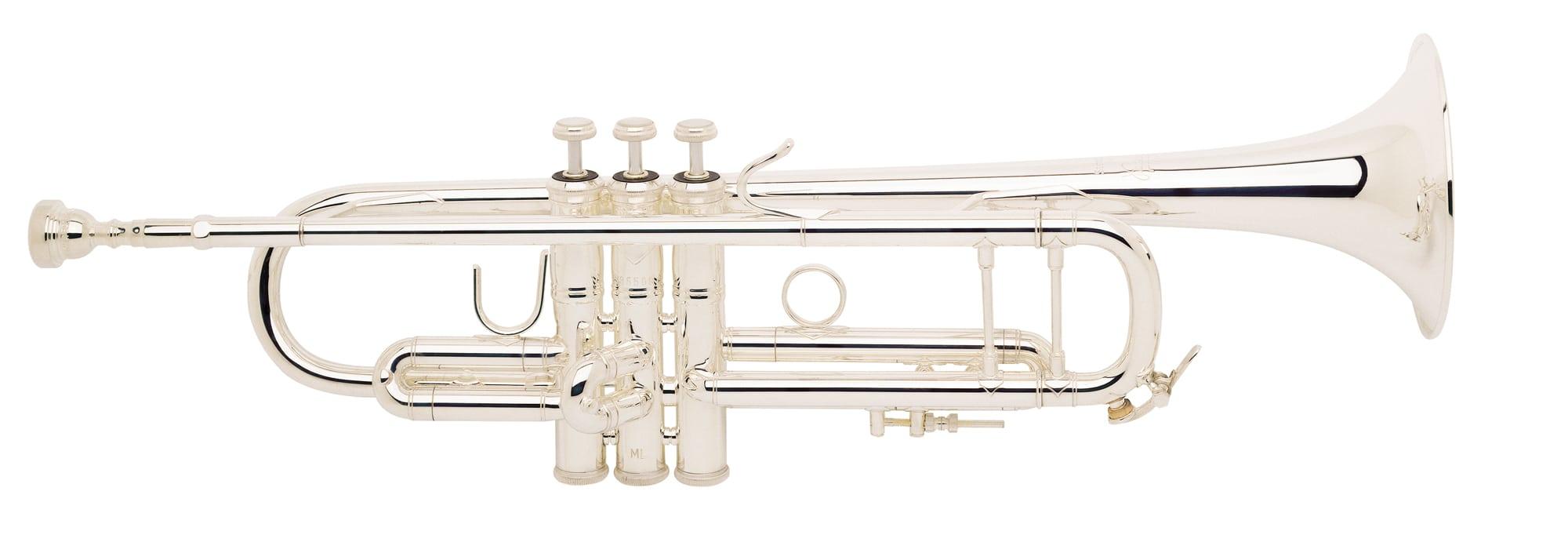 Trompeten - Bach 180S 43 ML Stradivarius Bb Trompete versilbert - Onlineshop Musikhaus Kirstein