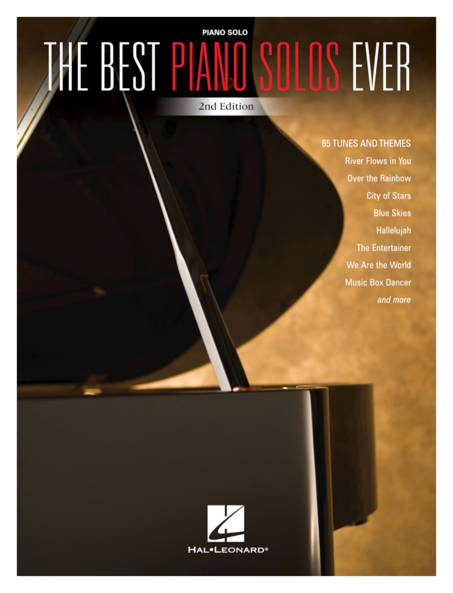Klavierlernen - The Best Piano Solos Ever 2nd Edition - Onlineshop Musikhaus Kirstein