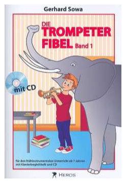 Trompetelernen - Die Trompeterfibel Band 1 mit CD - Onlineshop Musikhaus Kirstein