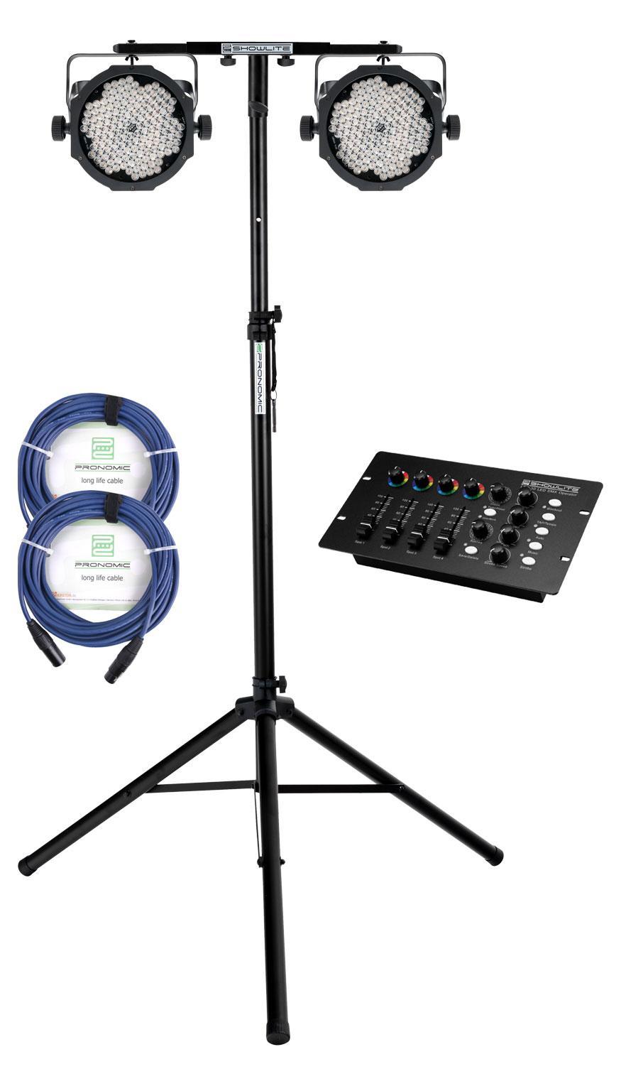 Lichtsets - Showlite FLP 144 Dual DMX Operator Set - Onlineshop Musikhaus Kirstein