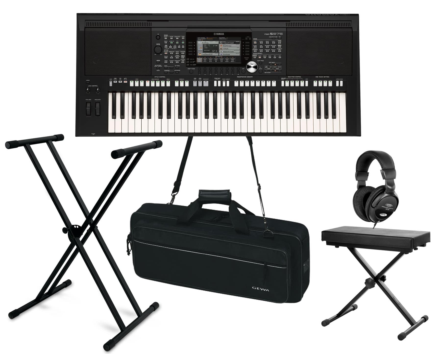 Yamaha PSR S975 Keyboard Set Deluxe