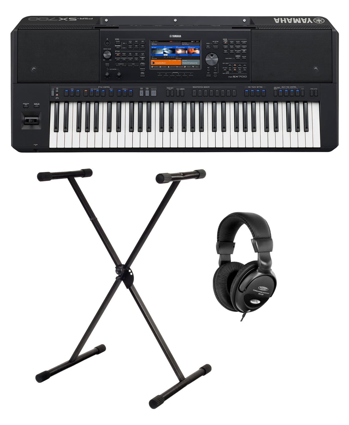 Homekeyboards - Yamaha PSR SX700 Keyboard Set - Onlineshop Musikhaus Kirstein