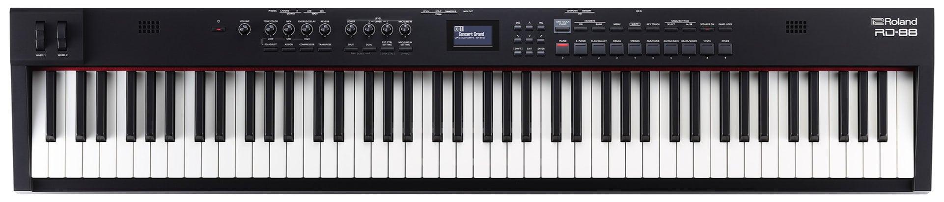 Stagepianos - Roland RD 88 Stagepiano - Onlineshop Musikhaus Kirstein