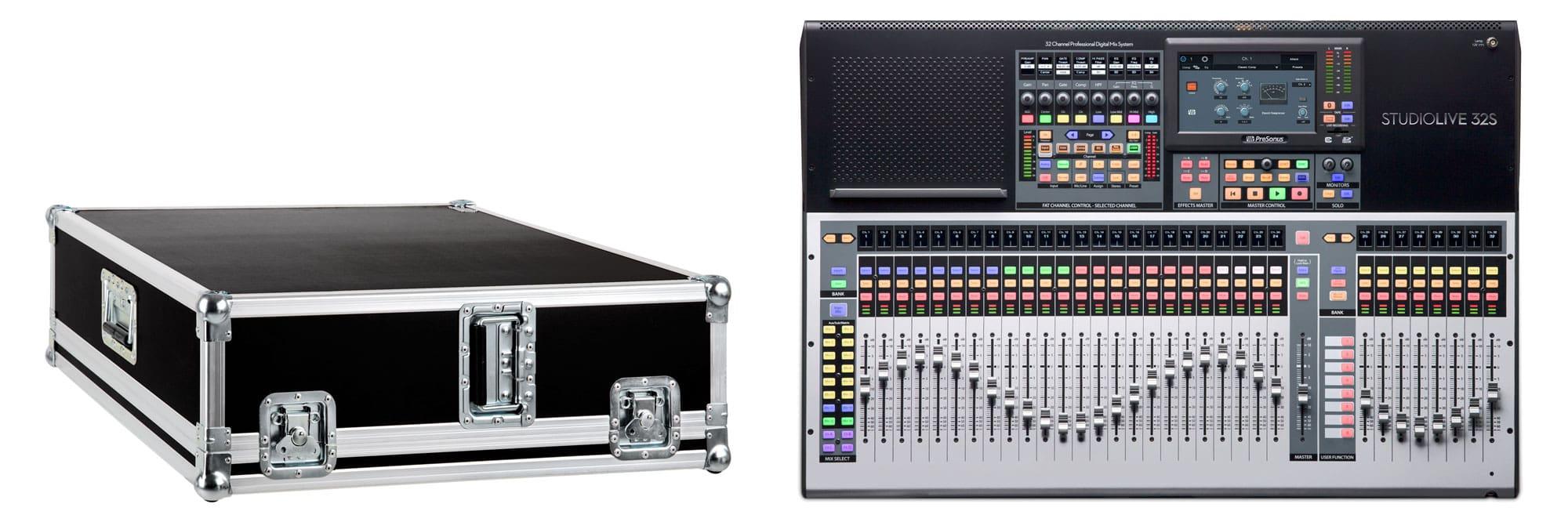 Mischpulte - PreSonus StudioLive 32S mit Case - Onlineshop Musikhaus Kirstein