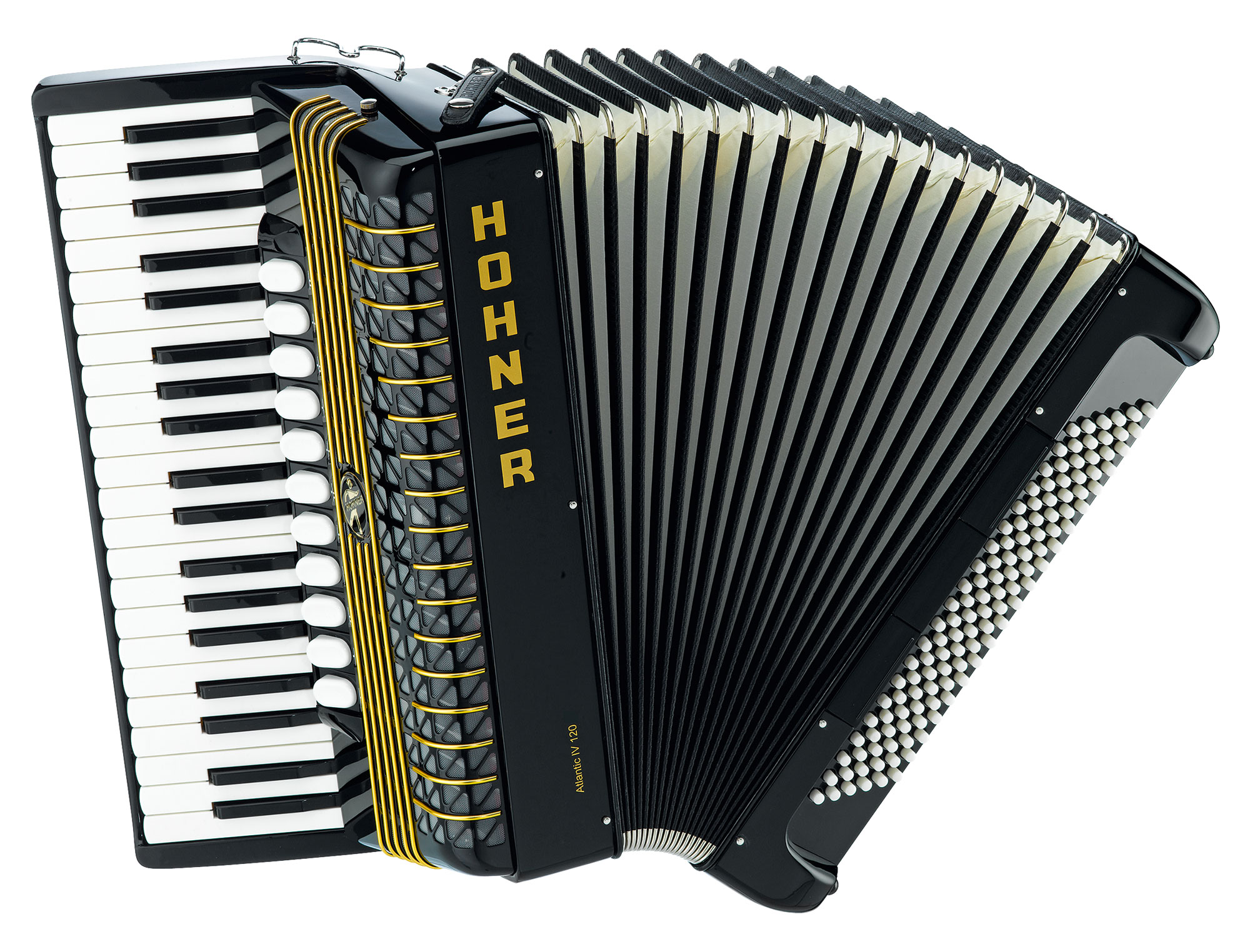 Hohner Atlantic IV|120 Akkordeon 1A Showroom Modell (Zustand wie neu)