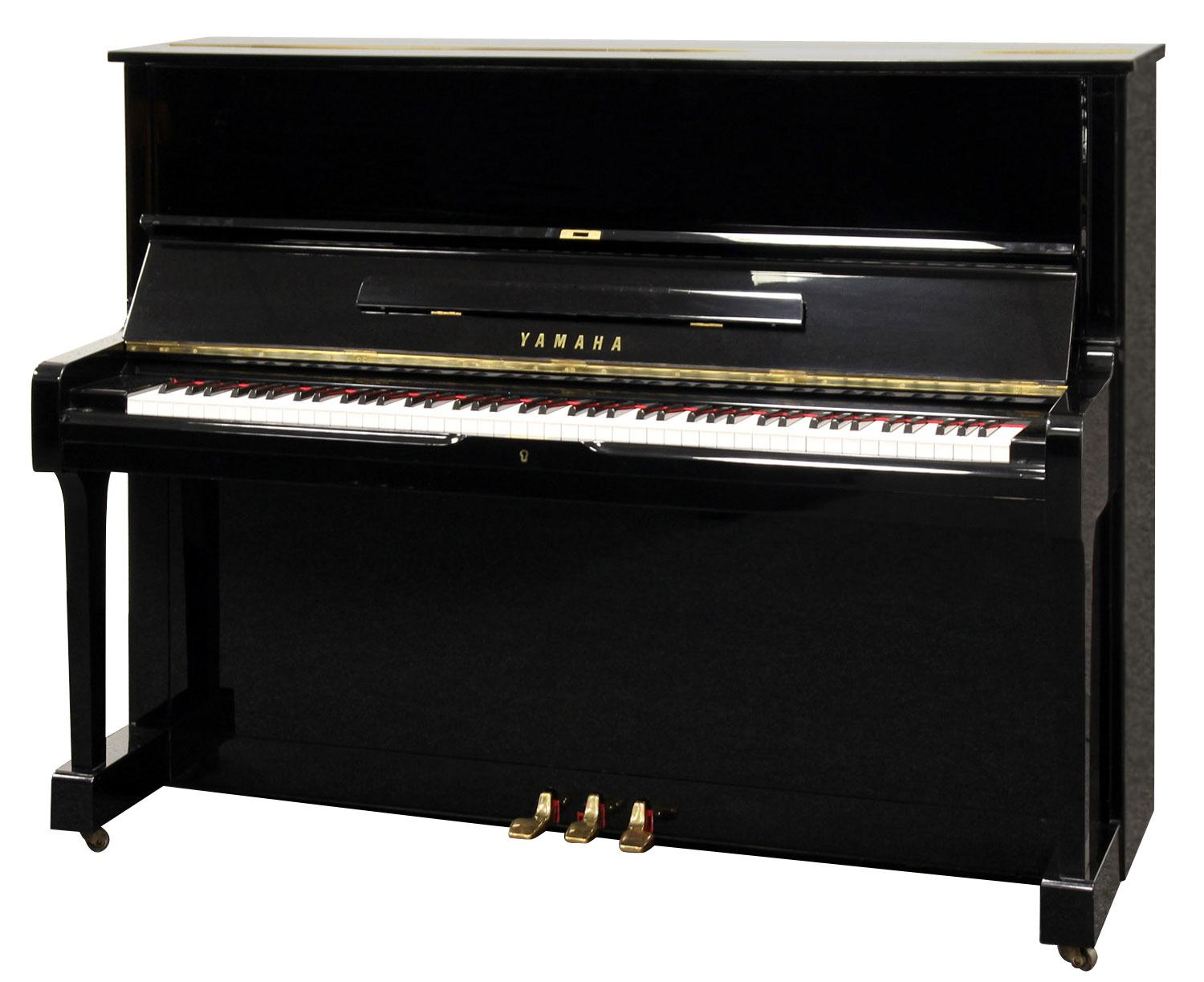 yamaha u1 klavier schwarz poliert gebraucht. Black Bedroom Furniture Sets. Home Design Ideas