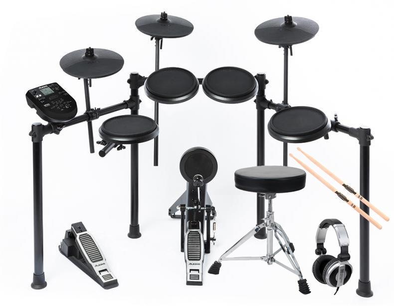 Alesis Nitro Kit E Drum SET inkl. Hocker, Sticks Kopfhörer