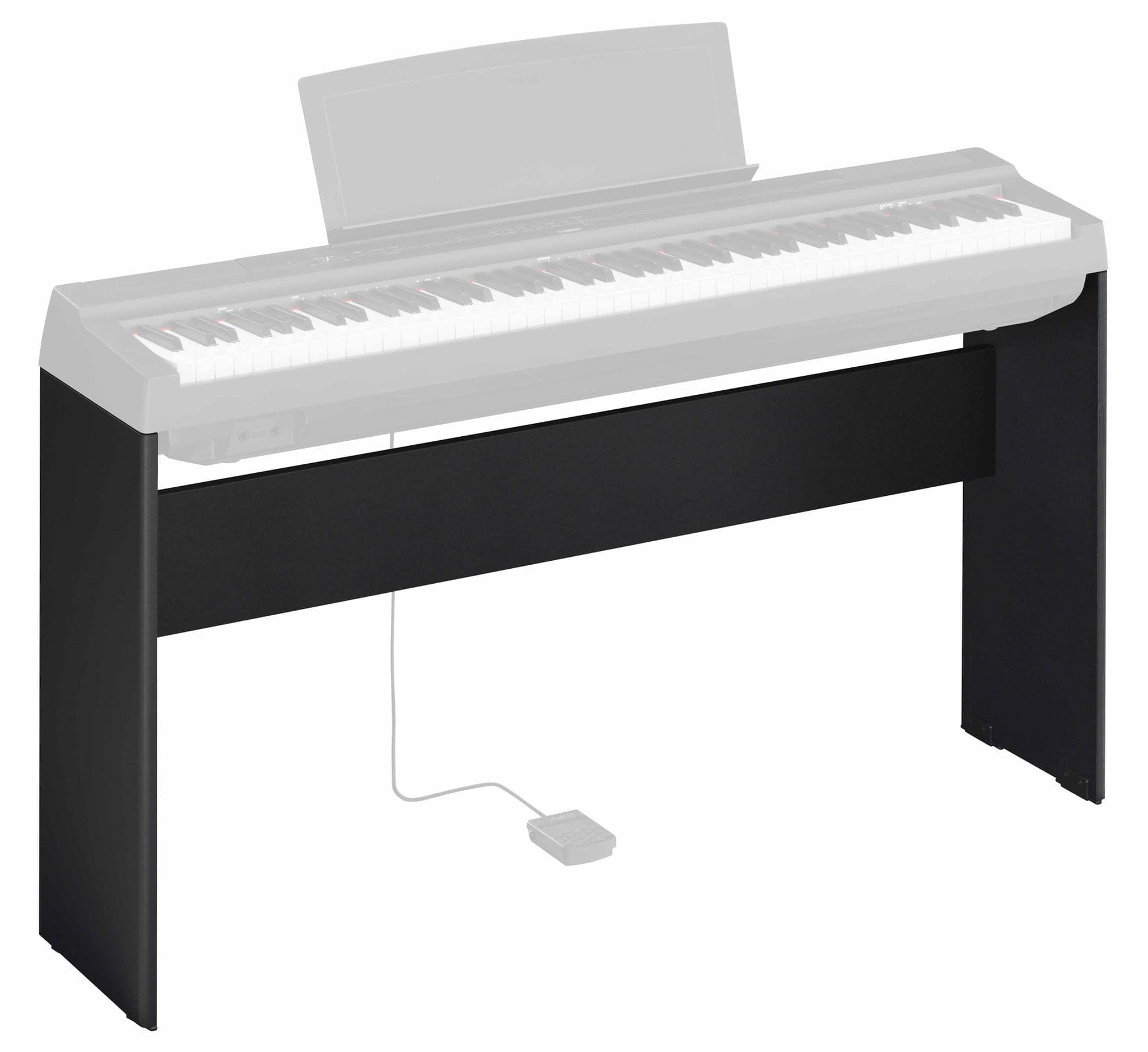 yamaha l 125b keyboardst nder f r p 125b schwarz. Black Bedroom Furniture Sets. Home Design Ideas