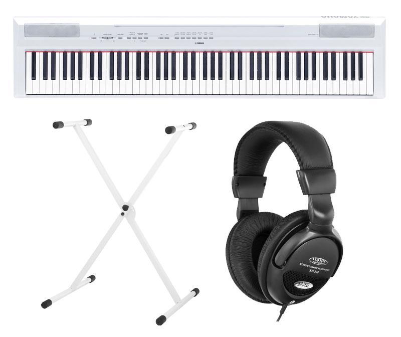 Yamaha P 115WH Stage Piano White SET inkl. Ständer und Kopfhörer