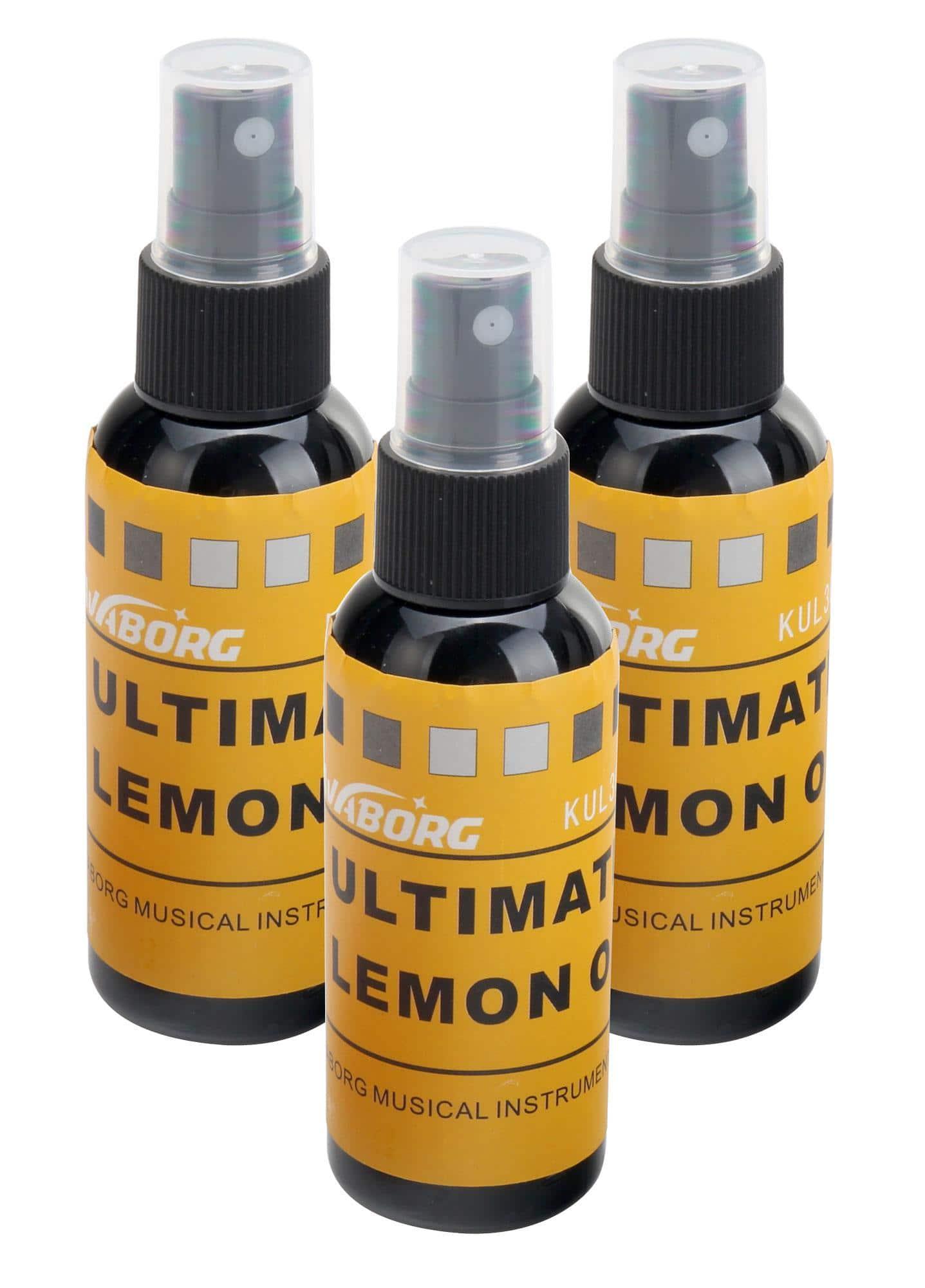 Zubehoergitarren - Rocktile GP 4 Griffbrettöl Lemon Oil SET 3x - Onlineshop Musikhaus Kirstein