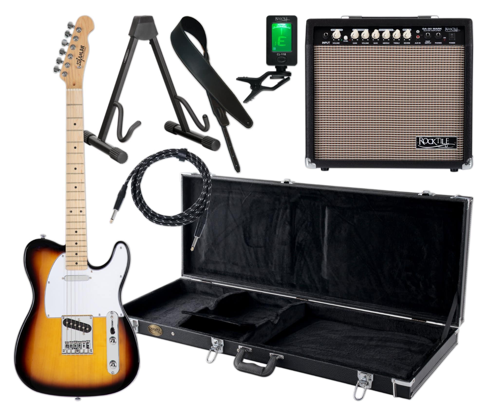 Egitarren - Shaman Element Series TCX 100VS Komplett Set - Onlineshop Musikhaus Kirstein