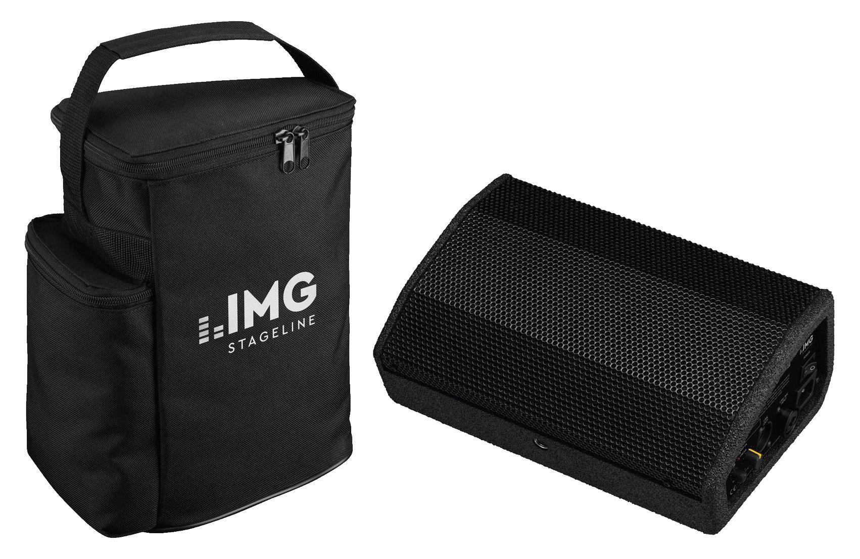 IMG Stageline Flat M100 Bühnenmonitor Set