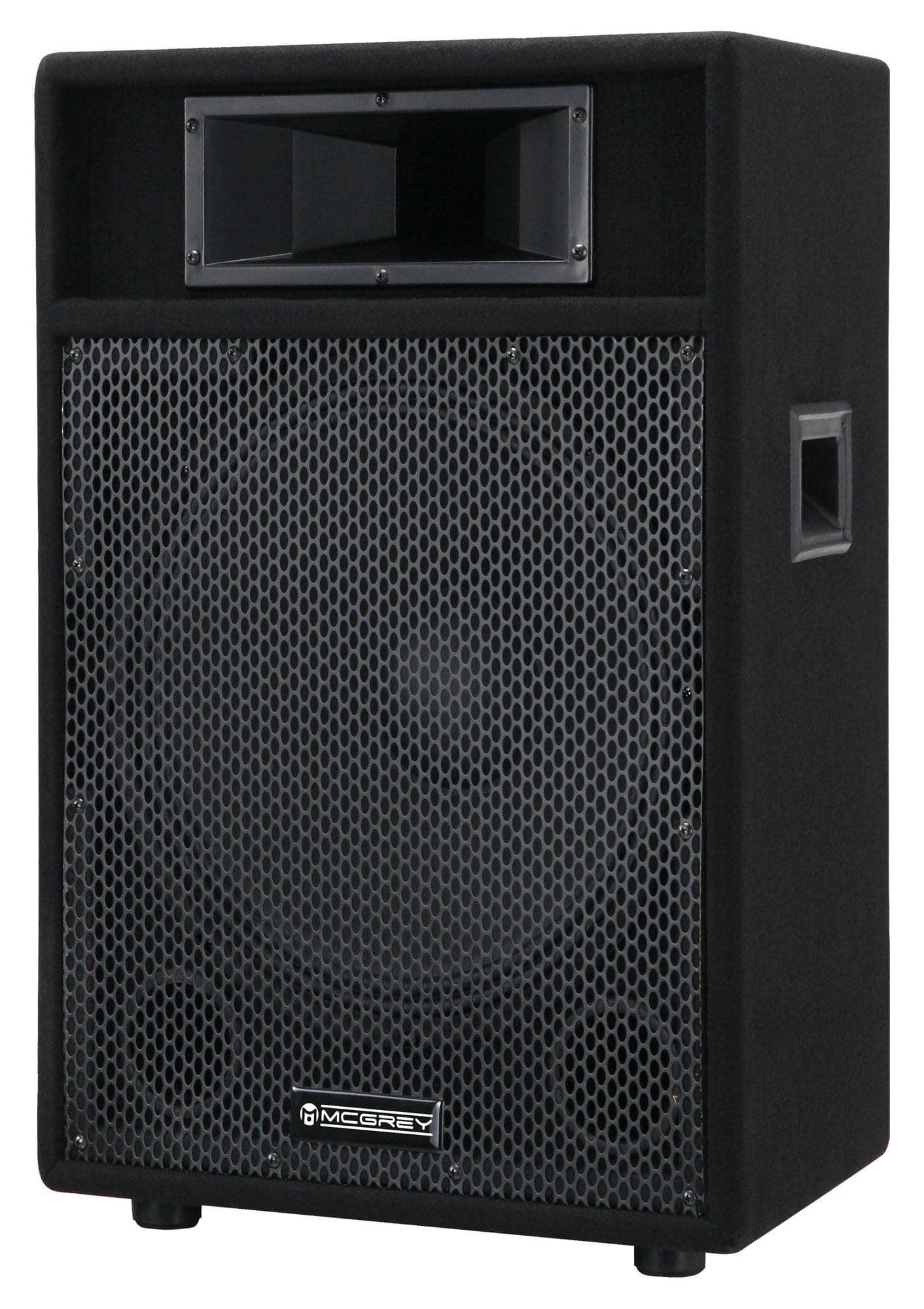 Paboxen - McGrey PA 115 passive PA Lautsprecher Box 400 Watt - Onlineshop Musikhaus Kirstein