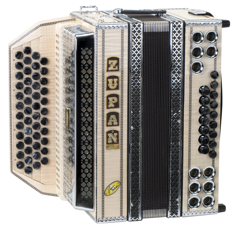 Akkordeons - Zupan Maple IVD Harmonika Signature Modell B Es As Des Retoure (Zustand wie neu) - Onlineshop Musikhaus Kirstein