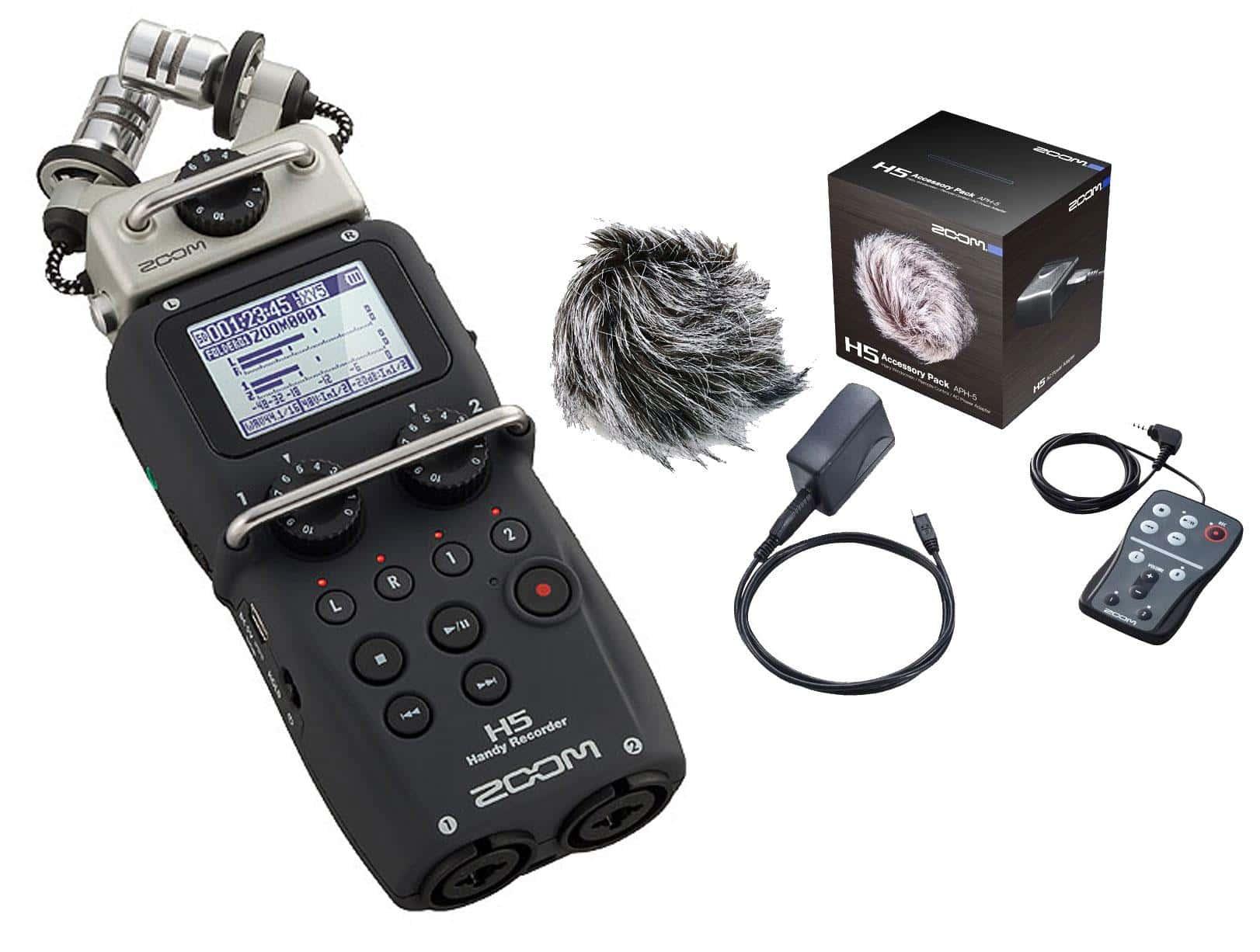 Zoom H5 Recorder mit APH-5 Zubehör Set