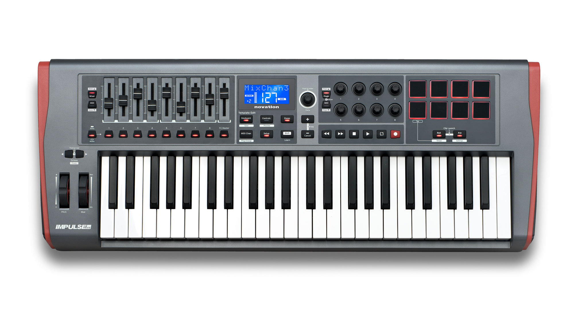 Midimasterkeyboards - Novation Impulse 49 - Onlineshop Musikhaus Kirstein
