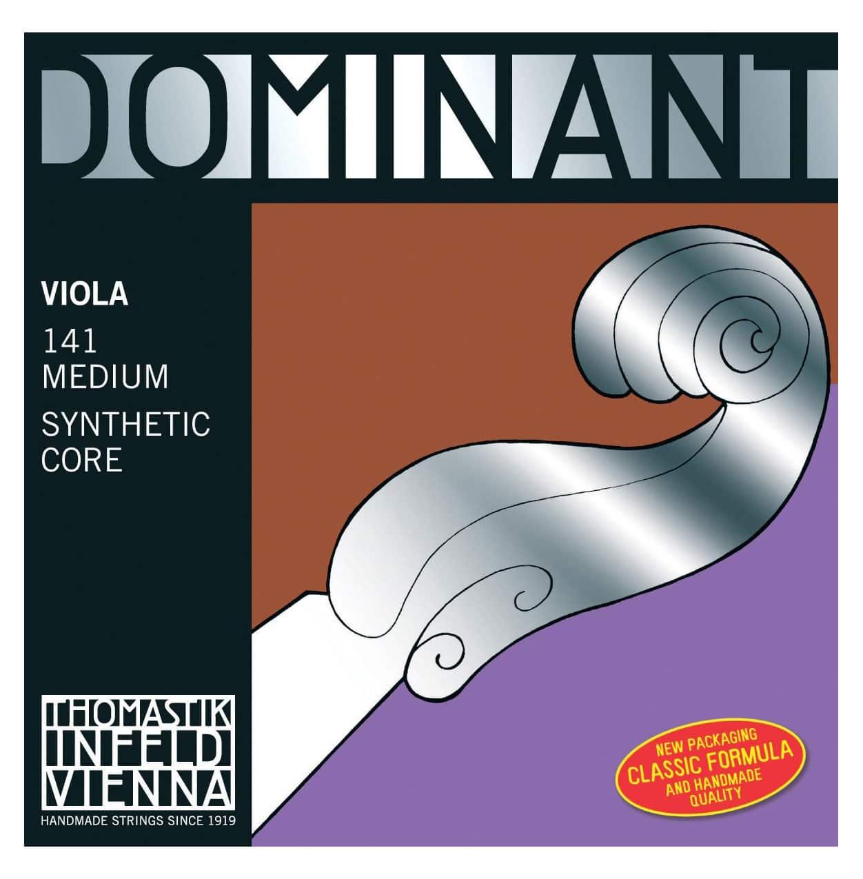Streichsaiten - Thomastik Dominant 141 Saitensatz für Viola Medium - Onlineshop Musikhaus Kirstein