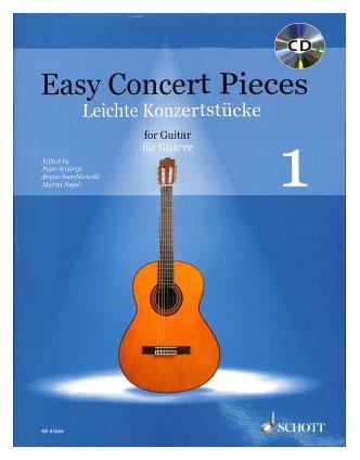 Gitarrelernen - Easy Concert Pieces 1 für Gitarre - Onlineshop Musikhaus Kirstein