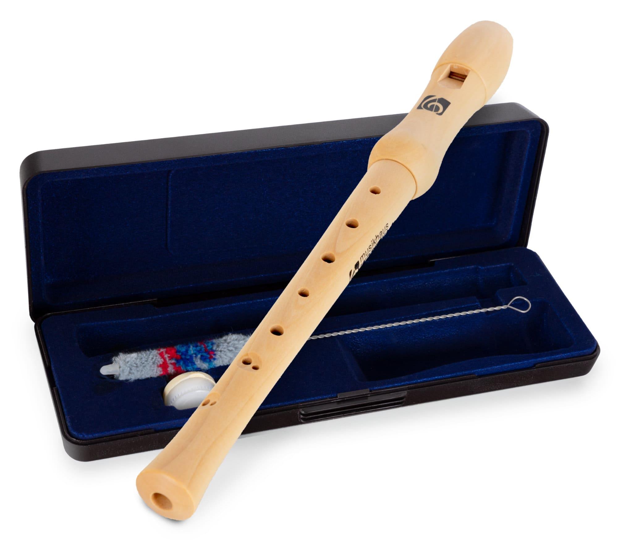 Sonstigeblasinstrumente - Kirstein C Sopran Blockflöte, barock, Ahorn - Onlineshop Musikhaus Kirstein