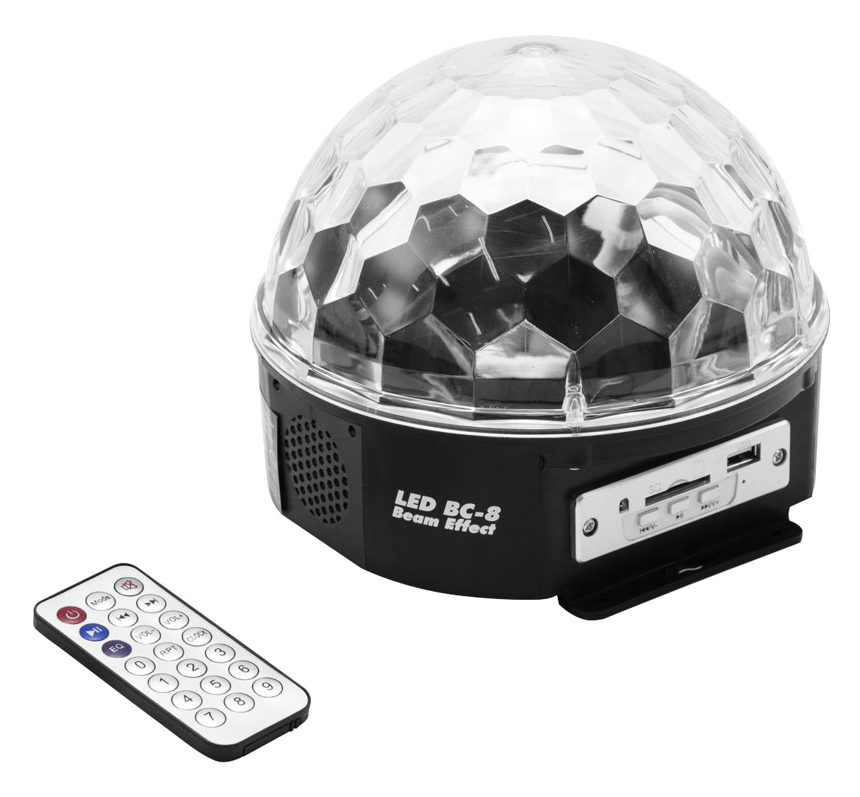 Lichteffekte - Eurolite LED BC 8 Strahleneffekt MP3 - Onlineshop Musikhaus Kirstein